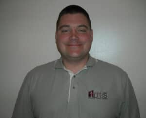 Martin Wood, construction manager at Titus Contracting Inc.