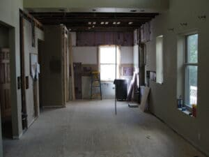 during Titus Contracting St. Paul Condo Updates