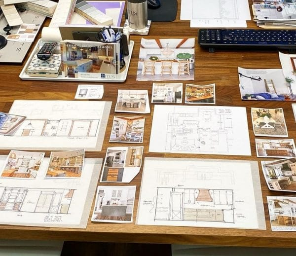 How to think like an interior designer. Designer tools on desktop